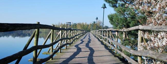 Der Ferienpark Center Parcs de Vossemeren in Beligien