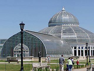 Art Deco Gebäude im Como Park Zoo. © RxS