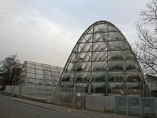Gewächshäuser im Botanischen Garten Graz © Mediocrity