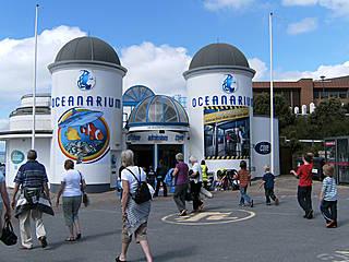 Eingang des Oceanarium Bournemouth. © shining.darkness